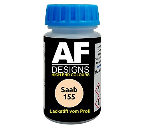 Lackstift für Saab 155 Elfenbein schnelltrocknend Tupflack Autolack