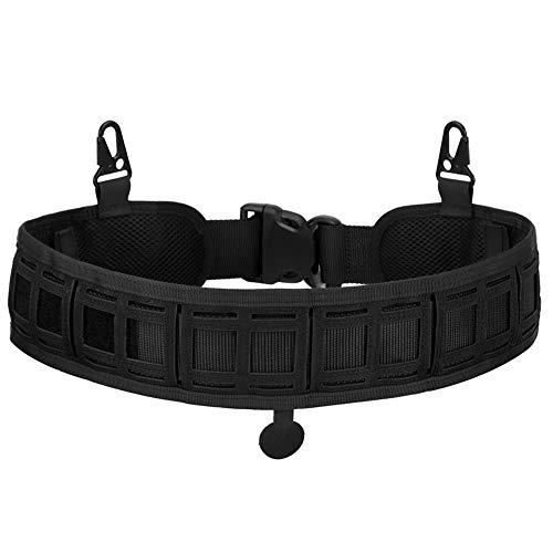 BAIGIO Tácdtico Cinturón Sello de Cintura Faja, Cinturón de Utilidad Molle Táctica Militar de Nylón Cintura de Protección, Rápidamente Desbloqueo de la Correa de CS,Campo, Airsoft, Caza
