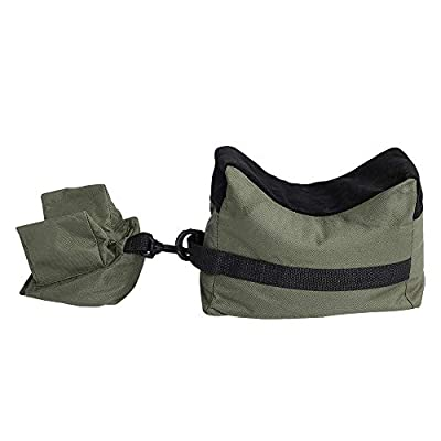 Shooting Rest Bags Target Sports Shooting Bench Rest Front & Rear Support SandBag Stand Holders for Gun Rifle Shooting Hunting Photography - Unfilled