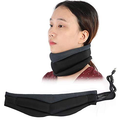 Brrnoo Collarín Cervical para Aliviar el Dolor y la Presión del Cuello, Collarín Cervical ortopédico Blando Soporte para el Cuello Alivio del Dolor y la Presión en la Columna Vertebral