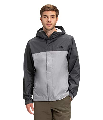 The North Face Men's Venture 2 Jacket, Meld Grey/Asphalt Grey, M