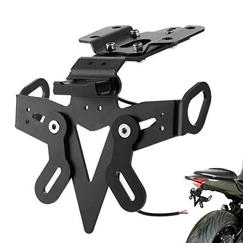 Kit d'élimination d'aile de Support de Plaque d'immatriculation de Moto avec LED pour Ya-maha MT-07 FZ-07 2013-2020