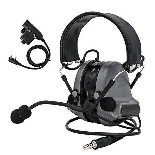 TAC-SKY COMTA II Electronic Tactical Headset Hearing Defender Noise...