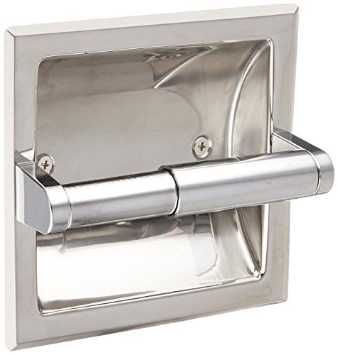 Top 10 best selling list for futura recessed toilet paper holder in chrome