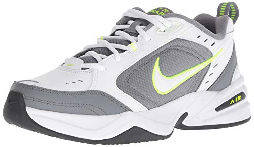 Nike Men's Air Monarch IV Cross Trainer, White/White - Cool Grey - Anthracite, 11 Regular US