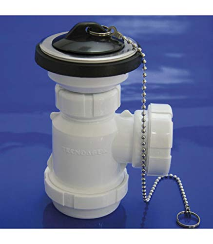 Wolfpack 4110225Geruchverschluss Flasche ausziehbar t-3-m 11/2Mini