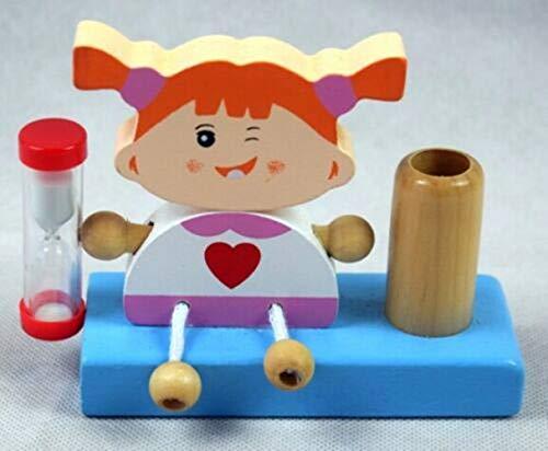 Brink Holzspielzeug Zahnputzuhr Mädchen