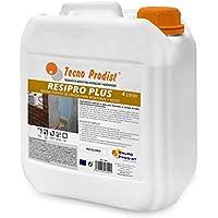 RESINA PUENTE DE UNIÓN de Tecno Prodist - (4 Litros) Adhesivo al agua, adherencia hormigones y morteros viejos con nuevos - Escayolas - Cementos - Para yesos en cornisas y techos. Buena Calidad