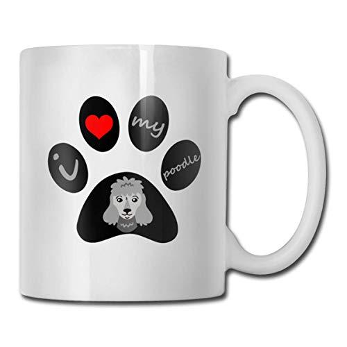 Daawqee Tazas Coffee Mug 11oz Funny Cup Milk Juice Or Tea Cup Dog Paw Birthday