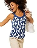 Street One Damen 316545 T-Shirt, Foggy Blue, 42