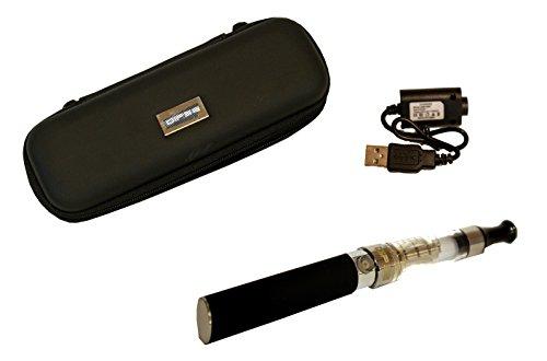 E Zigarette EINSTEIGERSET KING-SMOKE eGo-T - CE mit starkem Akku, Clearverdampfer und USB Ladekabel! Deutsche BDA - Nikotinfrei