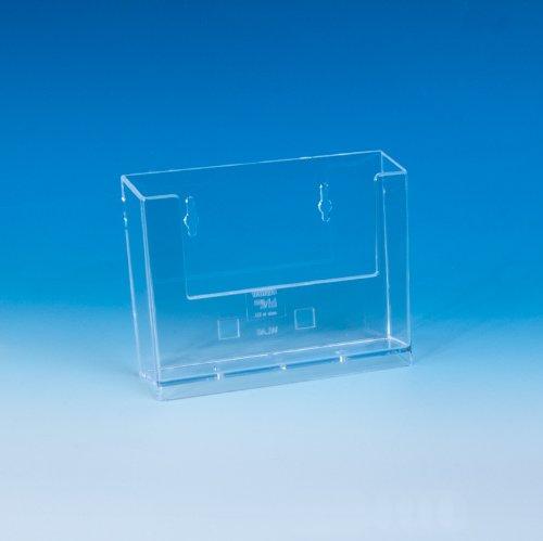 Taymar - Tarjetero en formato DIN A6 horizontal, transparente