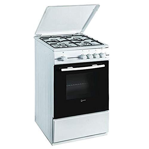 ATLANTIC - Cucina Atlantic ATMC55 4 Fuochi 50x50 Forno Elettrico Bianca