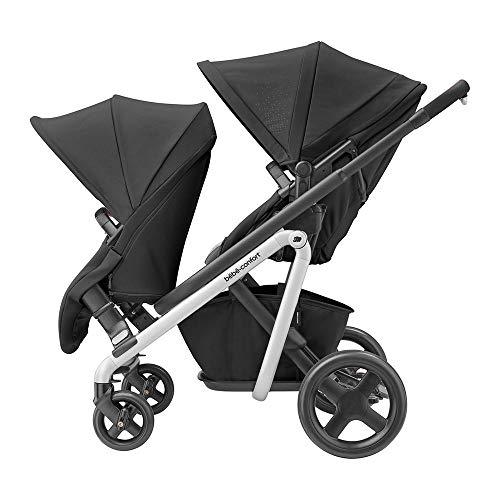 bébé confort Lila Duo Kit Assise Supplémentaire pour Poussette Lila Dès 6 Mois Jusqu'à 3 5 Ans Environ Nomade Black
