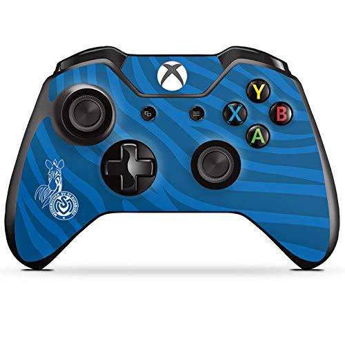 DeinDesign Skin kompatibel mit Microsoft Xbox One Controller Folie Sticker Zebra MSV Duisburg Fanartikel
