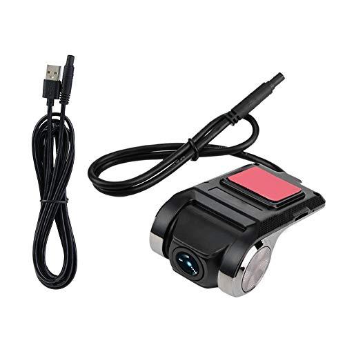 Qii lu cámara de salpicadero, HD 1080P cámara de coche DVR Dashboard cámara de vídeo grabadora, Mini coche DVR vídeo grabadora Dash cámara Smart GPS ADAS Driving Recorder