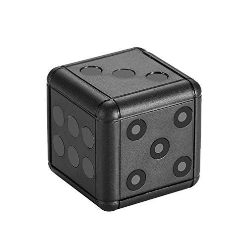 Vvciic Sq16 Mini Cámara-Negro Infrarrojo 1080Hd Cámara Dados Diseño Noche Video Recorder 1080P Hd Detección Micro