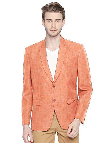 BLACKSMITH Linen Pastel Shade Fashion Blazer for Men – for Party, Cocktail, Sangeet, Lounge