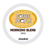 Coffee People Morning Blend, Keurig Single Serve Coffee K-Cup Pod, Light Roast , 72 Count