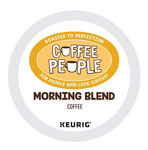 Coffee People Morning Blend, Single-Serve Keurig K-Cup Pods, Light Roast Coffee , 72 Count