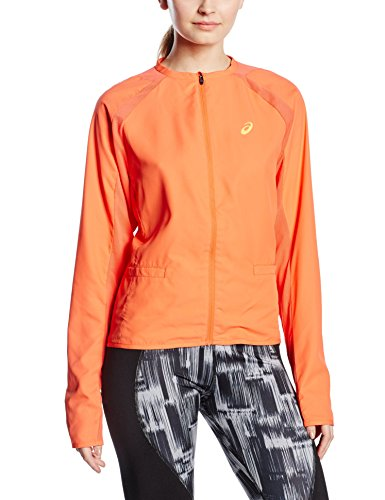 Asics Damen Jacke Samantha Stosur Athlete Track Jacket, Orange, L