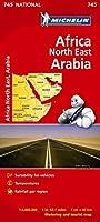 Africa North East, Arabia - Michelin National Map 745: Map (Michelin National Maps)