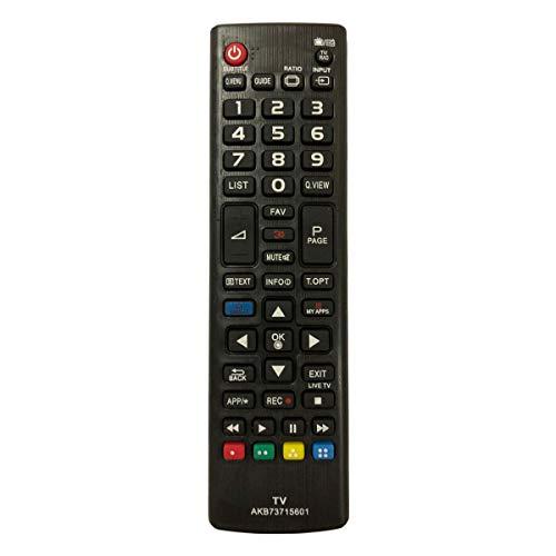 Control Remoto Compatible para LG 55UF6807 Televisión/TV