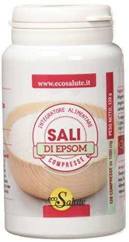 Spazio Ecosalute Sali di Epsom Integratore Alimentare a Base di Magnesio Solfato - 120 Compresse