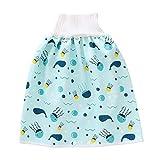 Alftek Babys Diaper Skirt Shorts Bequeme Babys Windelrock Shorts 2 in 1 wasserdichte auslaufsichere waschbare Baby Kid Windelrockhose