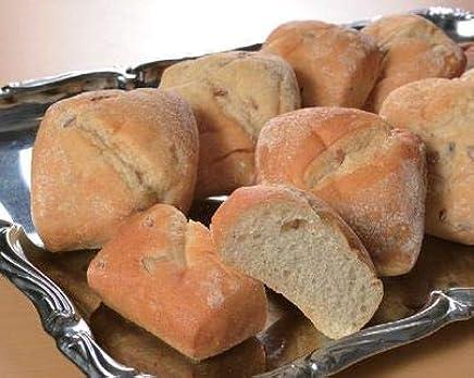 ライ麦パン(全粒粉入り)10個(1個約7×8×4cm)【冷凍パン】【朝食】(mk)(147030)