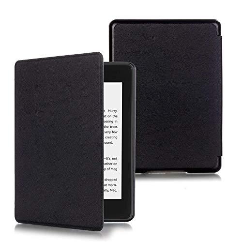 ProElite Slim Smart Flip case Cover for All New Amazon Kindle 6' 10th Generation 2019 [Black]