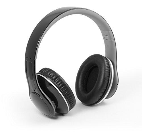 Technaxx Bluetooth Closed Kopfhörer MP3 + FM + Freisprechen Schwarz (BT-X15)