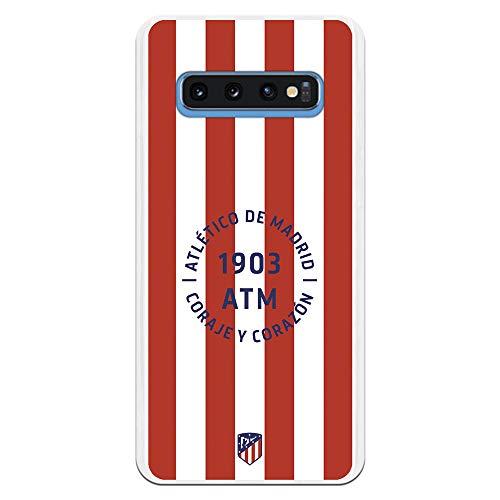 Funda para Samsung Galaxy S10 Oficial del Atlético de Madrid Coraje y...
