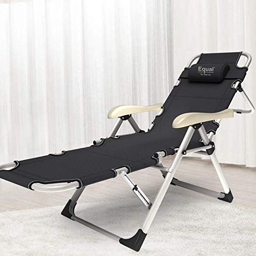 EQUAL Portable Adjustable Steel Recliner Chair