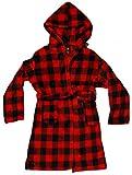Just Love Plush Velour Buffalo Plaid Robes for Girls...