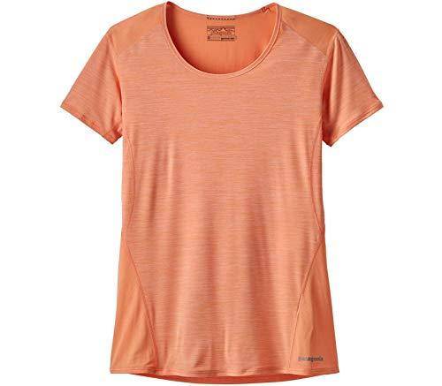 Patagonia W's Airchaser Shirt Chemise Femme, Pêche (Peach Sherbet), M