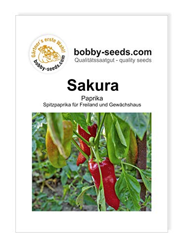 Sakura Paprikasamen von Bobby-Seeds, Portion