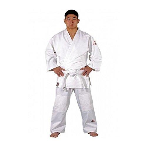 Judo kimono Tong-IL Dojo Line de DANRHO, blanc, 229502, taille 100