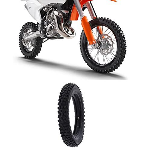 IDWT Juego de Tubo Interior de neumático, Tubo Interior de Motocross, Accesorios para Motocicletas 3.00-12 Neumático Duradero para Bicicleta de Tierra Todoterreno