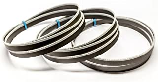 Juego de 2/metal de sierra de cinta BI metal M 42/Medidas 1640/X 13/X 0,65/mm 10//14/ZpZ por ejemplo para G/üde MBS 115