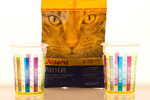 Josera 2 Meßbecher Katzenfutter auch für die Neue Sorte NatureCat