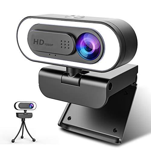 Webcam Con Microfono Para Pc Tripode webcam con microfono para pc  Marca NIYPS