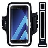 EOTW Brassard Sport Compatible pour Samsung Galaxy A3 2017, Microsoft Lumia 550, Brassard téléphone avec Espace pour Cartes,...