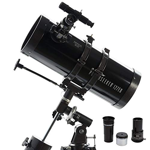Celestron Powerseeker Telescopio 127EQ MD, Nero