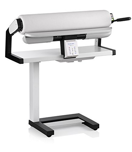 ironing board presses Reliable 100SR Rotary Steam Press - Verve Steam Press with Foot Pedal Control, 3 Steam Settings, Variable Speed, Dual-End Feed for Ironing Long Sheets, 1800W Heating Element, Safety Release Lever