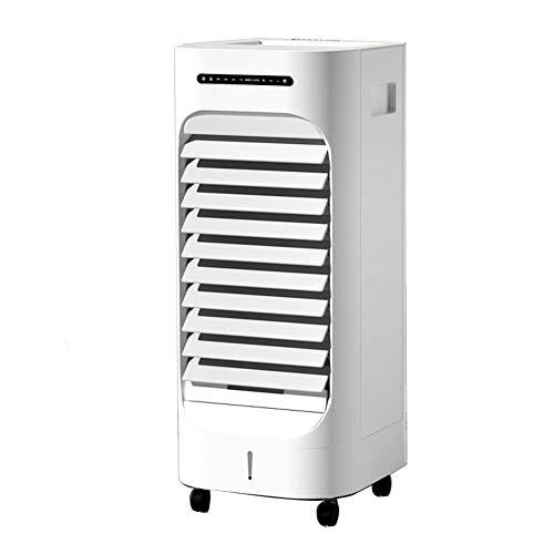 aire acondicionado, Refrigerador de evaporación de ventilador sin éxito, humidificador oscilante Aire acondicionado de aire acondicionado, ventilador de seguridad portátil, para maquinaria de oficina