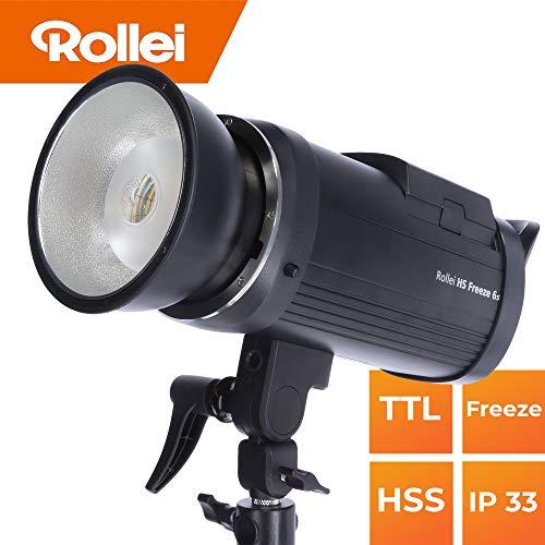 Rollei HS Freeze 6s Akku Studioblitz 600 Watt I...