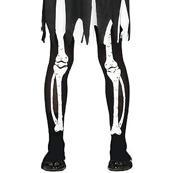 FIESTAS GUIRCA Medias de Esqueleto para niña de Disfraz de Terror ...