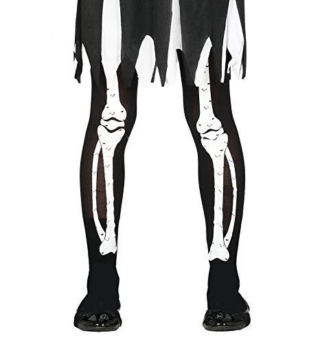FIESTAS GUIRCA Medias de Esqueleto para nia de Disfraz de Terror Talla nica 5-9 aos
