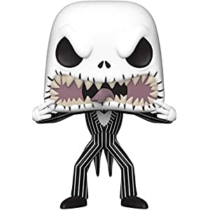 Funko- Pop Disney: The Nightmare Before Christmas-Jack (Scary Face) Figura Coleccionable, Multicolor (48182) 8